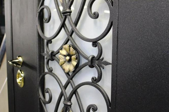железные двери с ковкой цена